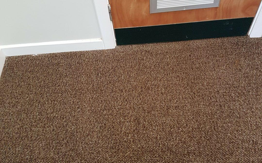 Bradford Office Carpet Cleaning Job